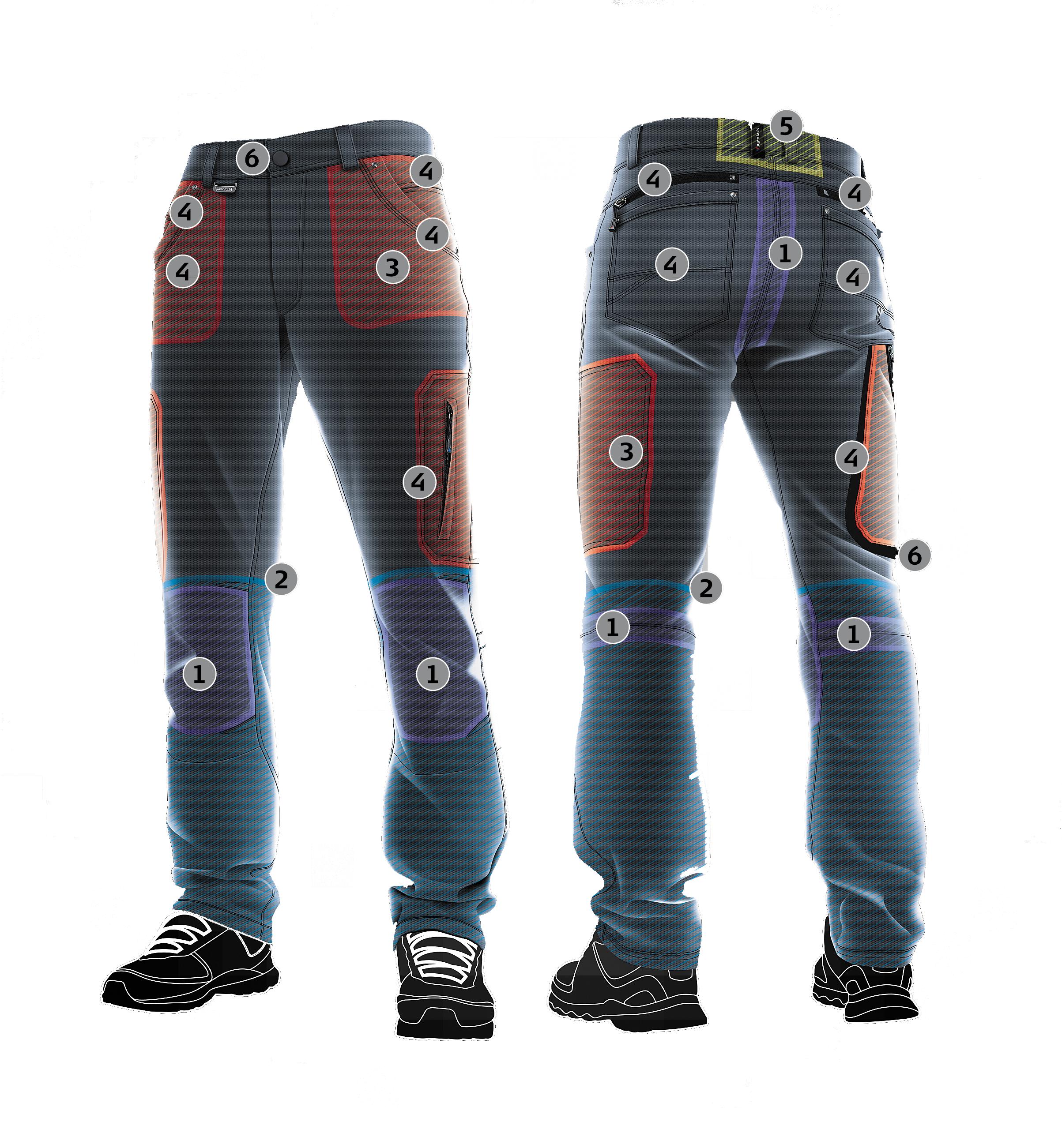 Конструкция брюк